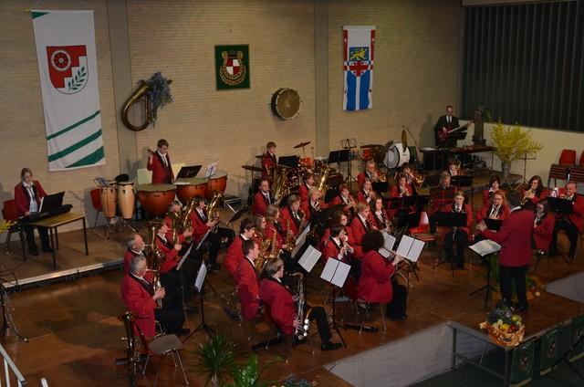 Gemeinschaftskonzert 2011 mit dem Musikverein Ebernhahn
