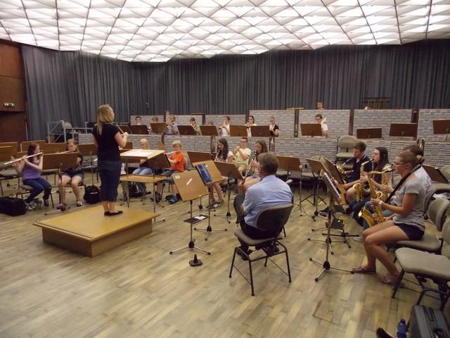 Das Jugendorchester zu Gast beim Heeresmusikkorps in Koblenz