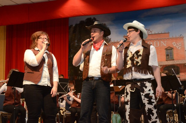 Konzert 2012: Vom Westerwald in den Wilden Westen