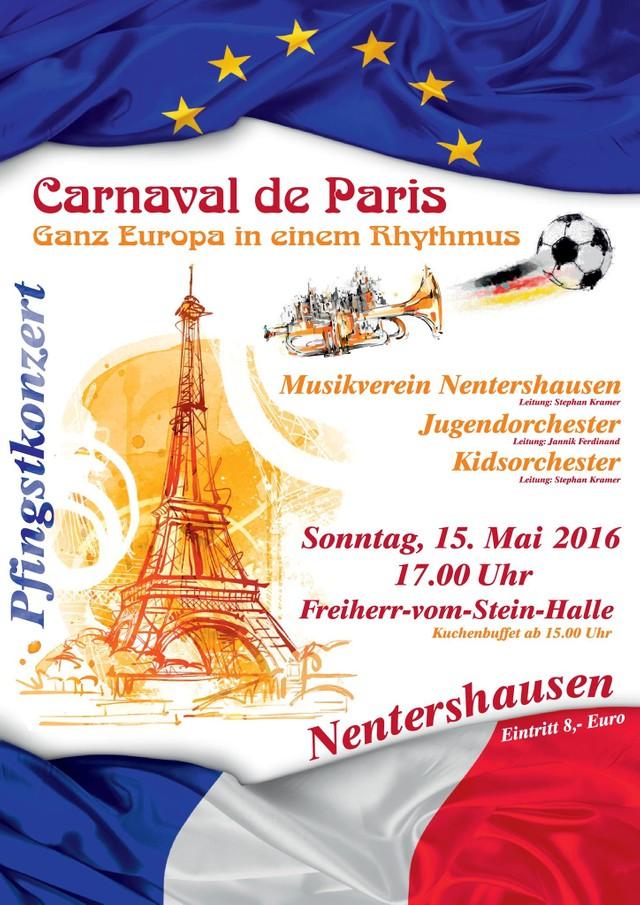 Konzert 2016: Carnaval de Paris