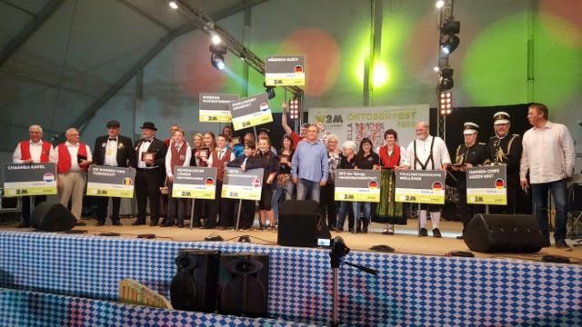 Vereinsausflug 2016 auf das internationalen Oktoberfest nach Calella