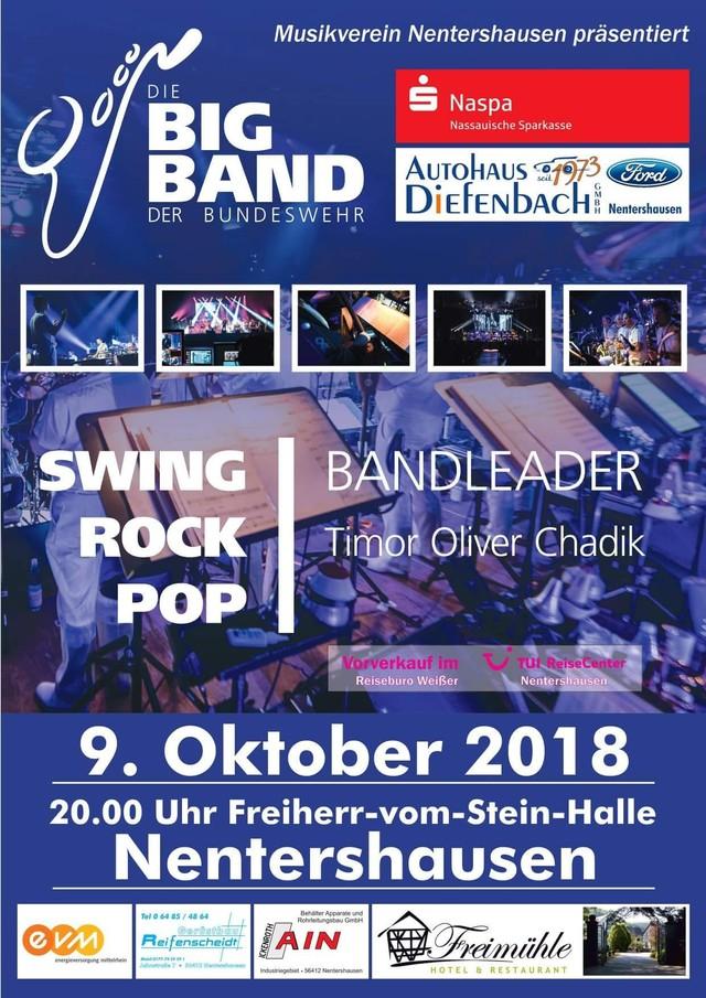Die Big Band der Bundeswehr 2018 zu Gast in Nenterhausen