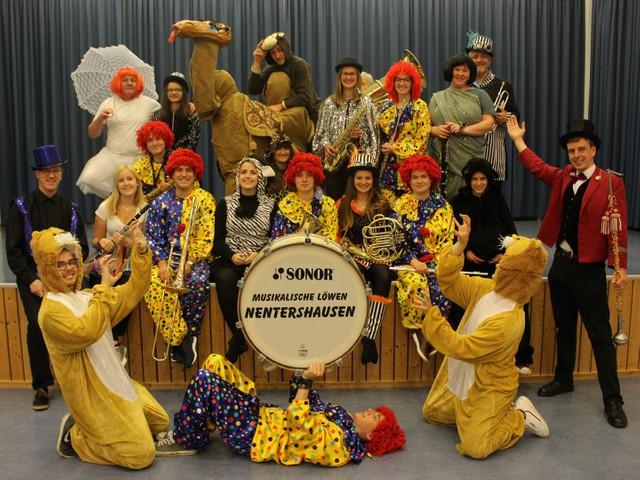 Konzert 2019: Circus in Nentershausen