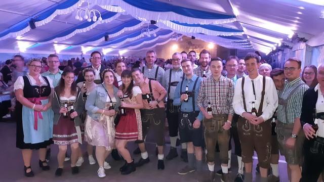 Auftritt auf dem Oktoberfest 2019 in Montabaur